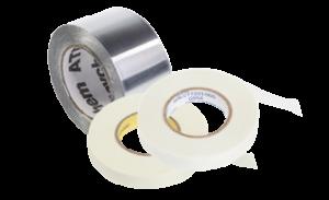 Самоклеющиеся ленты для монтажа греющих кабелей с полимерной изоляцией